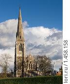 Купить «Готическая церковь в Копенгагене», фото № 1458158, снято 10 ноября 2007 г. (c) Козловская Ксения / Фотобанк Лори