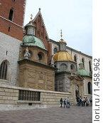 Купить «Кафедральный собор на Вавеле (фрагмент)», фото № 1458962, снято 13 сентября 2009 г. (c) Анна Белова / Фотобанк Лори