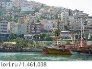 Купить «Порт. Аланья, Турция», фото № 1461038, снято 4 сентября 2009 г. (c) Михайлова Оксана / Фотобанк Лори