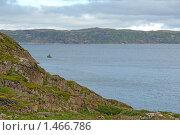 Купить «Скалистый берег Баренцева моря. Кольский полуостров», эксклюзивное фото № 1466786, снято 18 июля 2009 г. (c) Самохвалов Артем / Фотобанк Лори