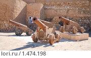 Купить «Старые пушки в крепости Эль-Кусейр, Египет», фото № 1474198, снято 3 января 2010 г. (c) Яков Филимонов / Фотобанк Лори