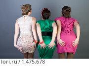 Купить «Три весёлые подружки», фото № 1475678, снято 5 февраля 2010 г. (c) Зореслава / Фотобанк Лори