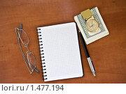 Купить «Бизнес натюрморт», фото № 1477194, снято 6 февраля 2010 г. (c) Nickolay Khoroshkov / Фотобанк Лори