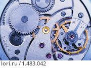 Часовой механизм. Стоковое фото, фотограф Сергей Галушко / Фотобанк Лори