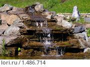 Купить «Маленький водопад», фото № 1486714, снято 17 июня 2007 г. (c) Art Konovalov / Фотобанк Лори