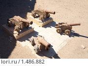 Купить «Старые пушки», фото № 1486882, снято 3 января 2010 г. (c) Яков Филимонов / Фотобанк Лори