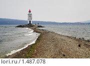 Купить «Маяк во Владивостоке», фото № 1487078, снято 6 апреля 2008 г. (c) Михаил Марковский / Фотобанк Лори