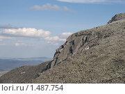 Купить «Уральские горы», фото № 1487754, снято 15 июля 2009 г. (c) Надежда Болотина / Фотобанк Лори
