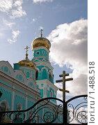 Православный храм. Стоковое фото, фотограф Елена Воронова / Фотобанк Лори