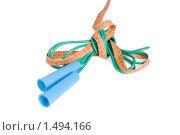 Купить «Скакалка и сантиметр», фото № 1494166, снято 9 декабря 2009 г. (c) Черников Роман / Фотобанк Лори