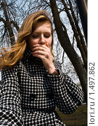Зубная боль. Стоковое фото, фотограф Евгений Ореховский / Фотобанк Лори
