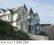 Купить «Уникальная архитектура Сан-Франциско», фото № 1500254, снято 5 февраля 2008 г. (c) Валентина Троль / Фотобанк Лори