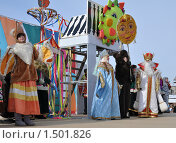 Проводы русской зимы в Омске (2010 год). Редакционное фото, фотограф Валерий Семикин / Фотобанк Лори