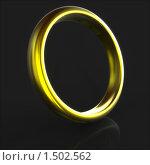 Простое золотое кольцо (студия - помещение) Стоковая иллюстрация, иллюстратор Казбеев Павел / Фотобанк Лори