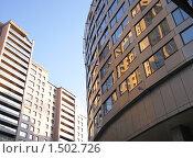 Купить «Современные офисные здания», фото № 1502726, снято 24 февраля 2010 г. (c) Румянцева Наталия / Фотобанк Лори