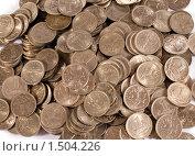 Купить «Монеты по одной копейке», фото № 1504226, снято 26 февраля 2020 г. (c) Момотюк Сергей / Фотобанк Лори
