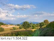 Купить «Средиземноморский пейзаж. Италия. Область Тоскана», фото № 1504322, снято 28 августа 2008 г. (c) ElenArt / Фотобанк Лори