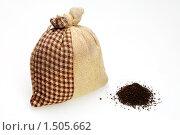 Мешок с чаем. Стоковое фото, фотограф Сергей Ксенофонтов / Фотобанк Лори
