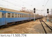 Купить «Железная дорога», фото № 1505774, снято 11 апреля 2009 г. (c) Максим Лоскутников / Фотобанк Лори