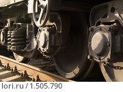 Купить «Фрагмент поезда», фото № 1505790, снято 11 апреля 2009 г. (c) Максим Лоскутников / Фотобанк Лори