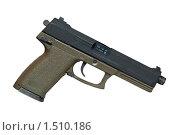 Пистолет US SOCOM Mk23 (2010 год). Редакционное фото, фотограф Андрей Филиппов / Фотобанк Лори