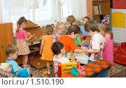 Купить «Дети в ясельной группе», фото № 1510190, снято 25 февраля 2010 г. (c) Типляшина Евгения / Фотобанк Лори