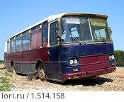 Купить «Автобус», фото № 1514158, снято 14 июня 2008 г. (c) Art Konovalov / Фотобанк Лори