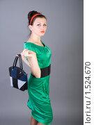 Купить «Портрет красивой девушки», фото № 1524670, снято 5 февраля 2010 г. (c) Зореслава / Фотобанк Лори