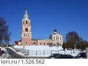 Купить «Троицкая церковь в поселке Ознобишино Подольского района», эксклюзивное фото № 1526562, снято 4 марта 2010 г. (c) Яна Королёва / Фотобанк Лори