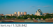 Купить «Набережная реки Белой», фото № 1528842, снято 30 мая 2009 г. (c) Виктория Кириллова / Фотобанк Лори