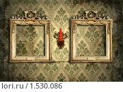 Старинный интерьер. Стоковая иллюстрация, иллюстратор Stanislav Kharchevskyi / Фотобанк Лори