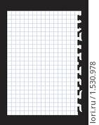 Купить «Вырванный лист бумаги», иллюстрация № 1530978 (c) Лищук Руслан Викторович / Фотобанк Лори