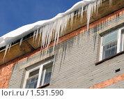 Купить «Сосульки», фото № 1531590, снято 6 марта 2010 г. (c) Валерий Александрович / Фотобанк Лори