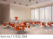 Купить «Столовая нового бизнес-центра», фото № 1532354, снято 20 февраля 2009 г. (c) Александр Максимов / Фотобанк Лори