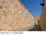 Купить «Древние стены Иерусалима. Израиль», фото № 1536562, снято 23 февраля 2010 г. (c) GrayFox / Фотобанк Лори
