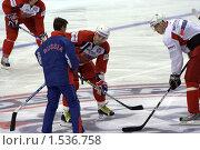 Малкин, Фёдоров и Быков (2009 год). Редакционное фото, фотограф Марина Михайлова / Фотобанк Лори