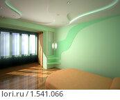 Купить «Интерьер спальни, 3d», иллюстрация № 1541066 (c) Сахно Роман Викторович / Фотобанк Лори