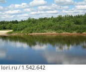Река Керженец. Стоковое фото, фотограф Светлана Островская / Фотобанк Лори