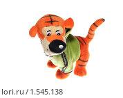 """Купить «Мягкая игрушка """"Тигр""""», эксклюзивное фото № 1545138, снято 11 марта 2010 г. (c) ФЕДЛОГ / Фотобанк Лори"""