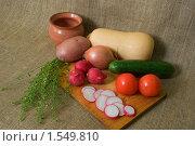 Натюрморт с овощами. Стоковое фото, фотограф Андреев Павел / Фотобанк Лори