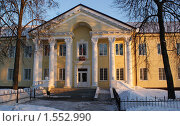 Купить «Здание унечского районного суда», фото № 1552990, снято 13 марта 2010 г. (c) Александр Шилин / Фотобанк Лори