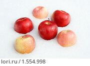 Яблочный натюрморт. Стоковое фото, фотограф Владимир Гуторов / Фотобанк Лори