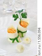 Купить «Праздничная закуска: морковка с чесночком», эксклюзивное фото № 1556094, снято 15 марта 2010 г. (c) Лисовская Наталья / Фотобанк Лори