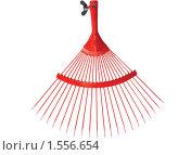 Купить «Красные грабли», фото № 1556654, снято 10 октября 2009 г. (c) Анатолий Заводсков / Фотобанк Лори