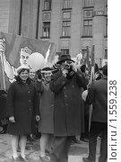 Первомайская демонстрация, 1970 год. Редакционное фото, фотограф Papoyan Irina / Фотобанк Лори
