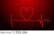 Биение сердца. Стоковая иллюстрация, иллюстратор Антон Соколов / Фотобанк Лори