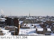Питерские крыши (2010 год). Стоковое фото, фотограф Алексей Баранов / Фотобанк Лори