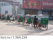 База китайских Рикш (2010 год). Редакционное фото, фотограф Янчук Константин Анатольевич / Фотобанк Лори