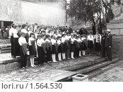 Купить «Прием в пионеры в 1985 году в Волгограде», фото № 1564530, снято 18 марта 2018 г. (c) Anna Kavchik / Фотобанк Лори