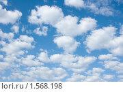 Купить «Небо с кучевыми облаками», фото № 1568198, снято 10 мая 2009 г. (c) Ирина Игумнова / Фотобанк Лори